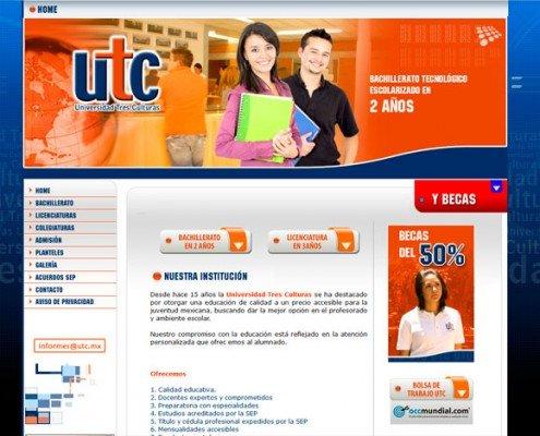 Diseño de páinas web para escuelas